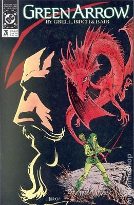 Green Arrow (1st Series) #26 1989 VF Stock Image