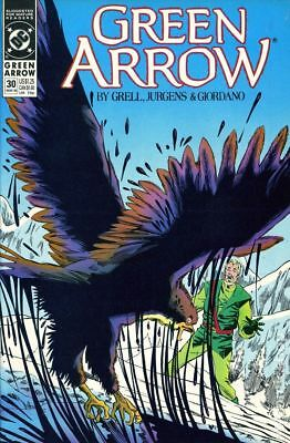 Green Arrow (1st Series) #30 1990 VF Stock Image