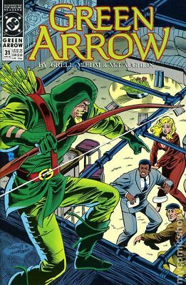 Green Arrow (1st Series) #31 1990 VF Stock Image