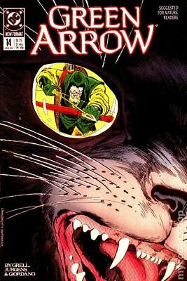 Green Arrow (1st Series) #14 1989 VF Stock Image