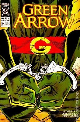 Green Arrow (1st Series) #34 1990 VF Stock Image