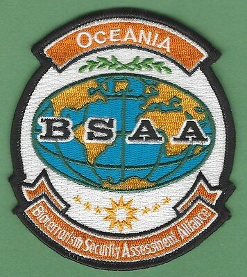 Bsaa Resident Evil Oceana Bioterrorism Security Assessment Alliance Patch