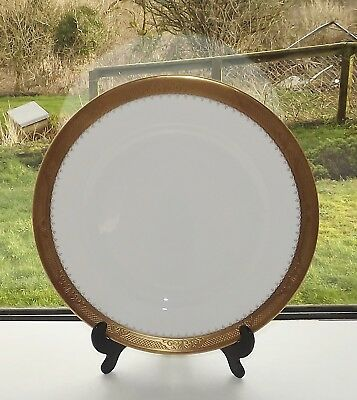 Caverswall English Fine Bone China Castle of Mey Dinner Plate 27.5cm  1970s