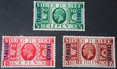 Morocco Agencies/Tangier 1935 GV Silver Jubilee set SG 238/240 mint