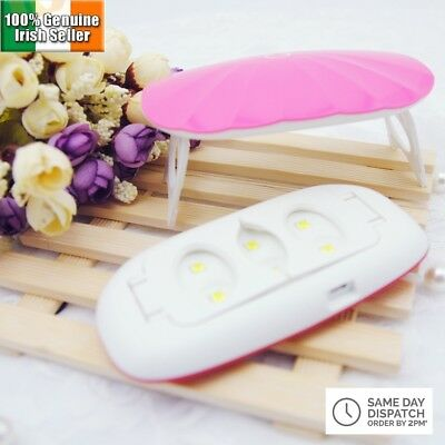 NEW 12W UV LED lamp Nail Dryer Portable USB Cable for Nails Gel Dryer Nail Lamp