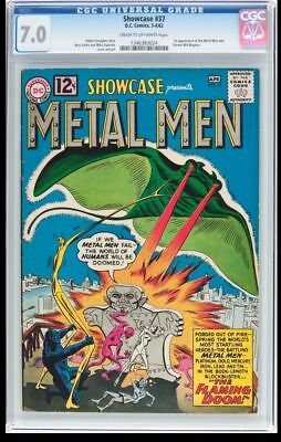 Showcase #37 Cgc 7.0 1St Appearance Of The Metal Men Cgc #1346383024