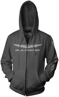 Honda Collection Gold Wing Zip Hoody Gray 2X-Large