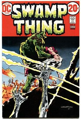 Swamp Thing #3-Dc--1973--First Patchwork Man-Original Owner Copy-Nm