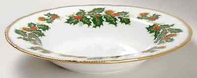 Rosina Queens YULETIDE (SCALLOPED) Cotswold Rimmed Soup Bowl 5450875