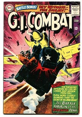 G.I. COMBAT #114-comic book-Origin of HAUNTED TANK-1965