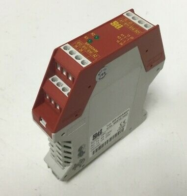 Sti SR102AM01 Safety Monitoring Relay, Supply: 24VAC/DC, Outputs: 2x N/O
