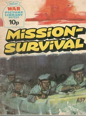 1976  No 1224 33062 War Picture Library  MISSION SURVIVAL