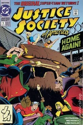 Justice Society of America (2nd Series) #1 1992 FN Stock Image