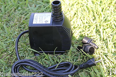 1000 GPH Submersible Water Pump - hydroponics aquarium fountain pond