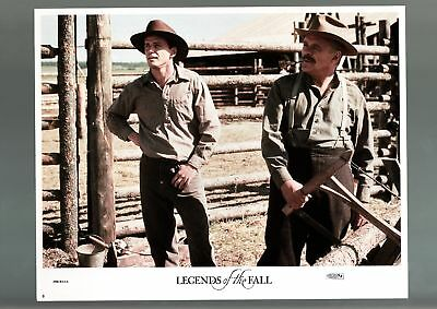 Legends Of The Fall-Drama-Romance-War-Lobby Card-Aidan Quinn-Anthony Ho Fn/vf