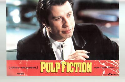 Pulp Fiction-John Travolta-9x13-Color-Lobby Card