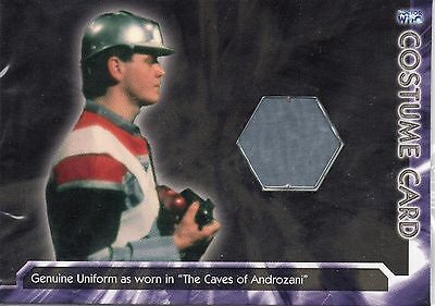 DOCTOR WHO Genuine Costume Card - The Caves of Androzani - Stictly Ink #WHOT-C3