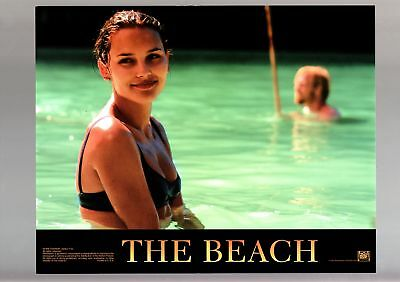 Beach-1999-Leonardo Dicaprio-Virginie Ledoyen-Adventure-Drama-Lobby Card Vf/nm