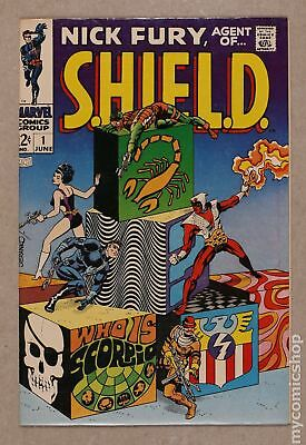 Nick Fury Agent of SHIELD (1st Series) #1 1968 FN+ 6.5