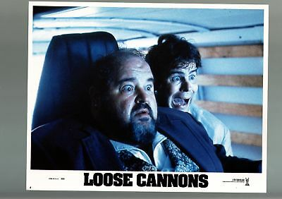Loose Cannons-1990-Lobby Card-Vf/nm-Comedy-Dom Deluise-Dan Aykroyd Vf/nm
