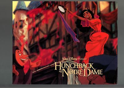 THE HUNCHBACK OF NOTRE DAME-1964-LOBBY CARD-ANIMATED-DISNEY--fine FN