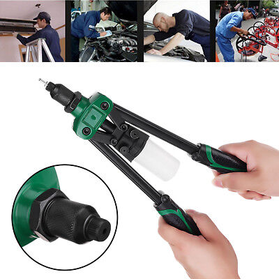 5in1 Heavy Duty 32.5cm 3.2/ 4.0/ 4.8/ 6.4mm Pro Hand Riveter Gun Pop Rivet Tool
