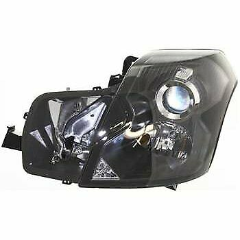 Halogen Headlight For 2003-2007 Cadillac CTS Left w/ Bulb