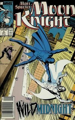 Marc Spector Moon Knight #4 1989 FN Stock Image
