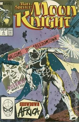 Marc Spector Moon Knight #3 1989 FN Stock Image