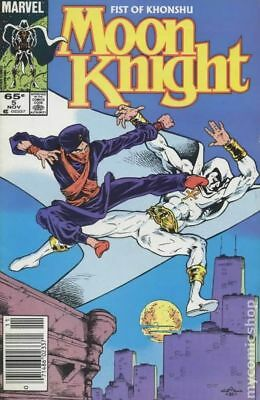 Moon Knight (2nd Series) Fist of Khonshu #5 1985 FN Stock Image