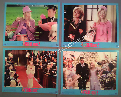 Lobby Card Set~ LEGALLY BLONDE 2 ~Reese Witherspoon ~Sally Field ~Bob Newhart