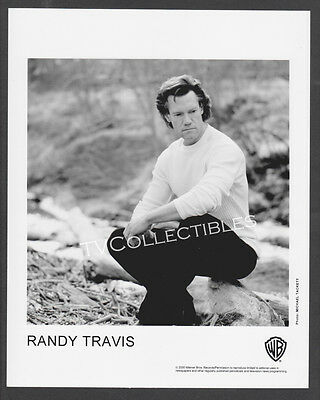 8x10 Photo~ Singer RANDY TRAVIS ~2000 ~Casual Pose ~Warner Brothers
