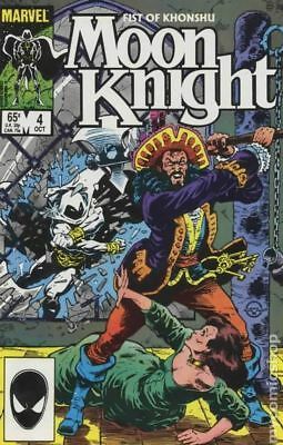 Moon Knight (2nd Series) Fist of Khonshu #4 1985 FN Stock Image