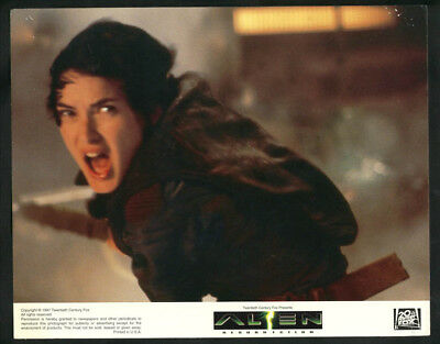 Alien Resurrection-8X10 Color Photo-Sci-Fi-Wynona Ryder Fn