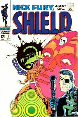 Nick Fury Agent of SHIELD (1st Series) #5 1968 VG- 3.5 Stock Image