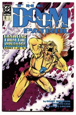 DOOM PATROL #19-1989 First appearance of CRAZY JANE comic