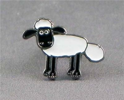 Shaun the Sheep pin badge. Shaun Cartoon series. Lamb