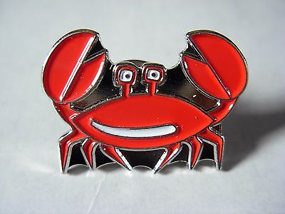 Crab Collectable pin badge. Seaside. Holidays. Beach