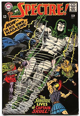 Spectre  #1 1967-Dc-Black Cover-Murphy Anderson