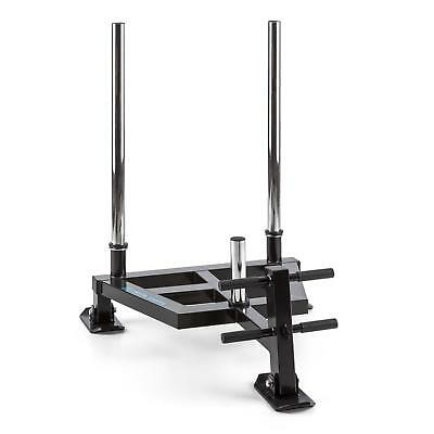 Weight Sled Push Solid Steel Gym Stamina Buildind Pull Excercise Training 50 Mm