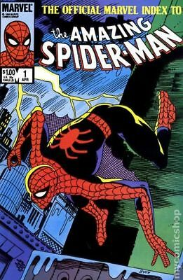 Official Marvel Index to Amazing Spider-Man #1 1985 VF Stock Image