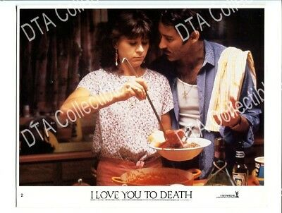 I Love You To Death-1990-8X10 Promo Still-Kevin Kline-Tracey Ullman-Comedy- Vf