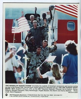 "The Heroes of Desert Storm 8""x10"" Color Promotional Still America FN"