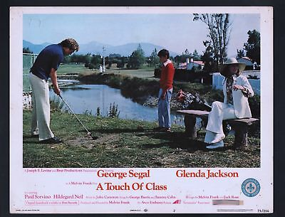 Touch of Class Lobby Card #2-1973-Golf-George Segal
