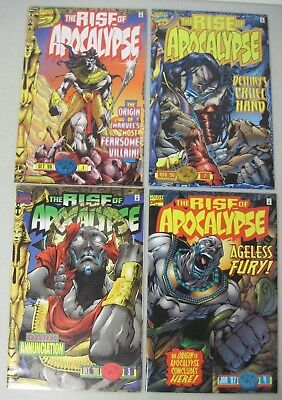 Complete Set Of The Rise Of Apocalypse #1-4 Marvel Limited Series 1996