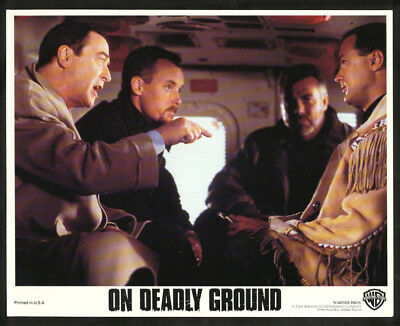 On Deadly Ground-8X10 Color Photo-Seagal/michael Caine Fn