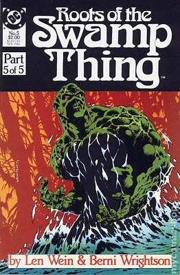 Roots of the Swamp Thing #5 1986 FN Stock Image