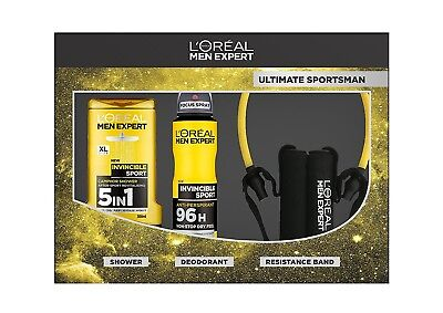 L'Oreal Men Expert Ultimate Sportsman Set 3-Piece Ideal Gift for Any Occasion