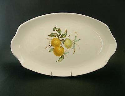 Myott Bitter Sweet Oranges English Vintage Ironstone China Serving Plate Tray