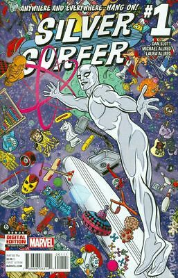 Silver Surfer 1A 2016 VF Stock Image